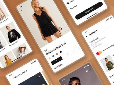 Blume - Shopping App UI Kit ecommerce shopping app fashion app store fashion eshop shop ressources ressource sketch app uxdesign ux uiux uidesign ui