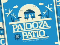 Palooza on the Patio Poster