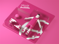 Hello Dribbble again