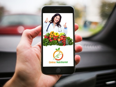 Logo for a I Phone Apps (Online Nutritionist)