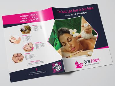 SPA Lovers Bi-Fold Brochure