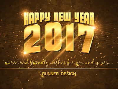 Facebook Timeline Cover_New Year 2017