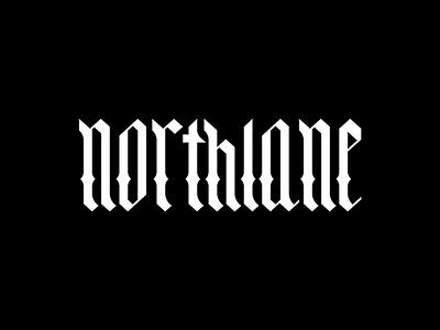 Northlane   Band Merch type typography design logodesign vector blackletter gothic northlane metal logo merch band merch identity brand branding logo design logo word mark