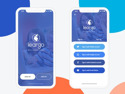 Leargo students mobile app