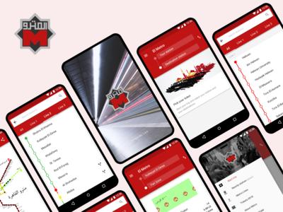 El Metro app to calculate your ticket & estimate trip duration