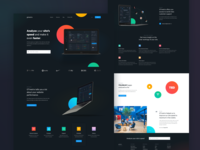 Page Speed Test Landing page