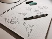 Sketch of animals