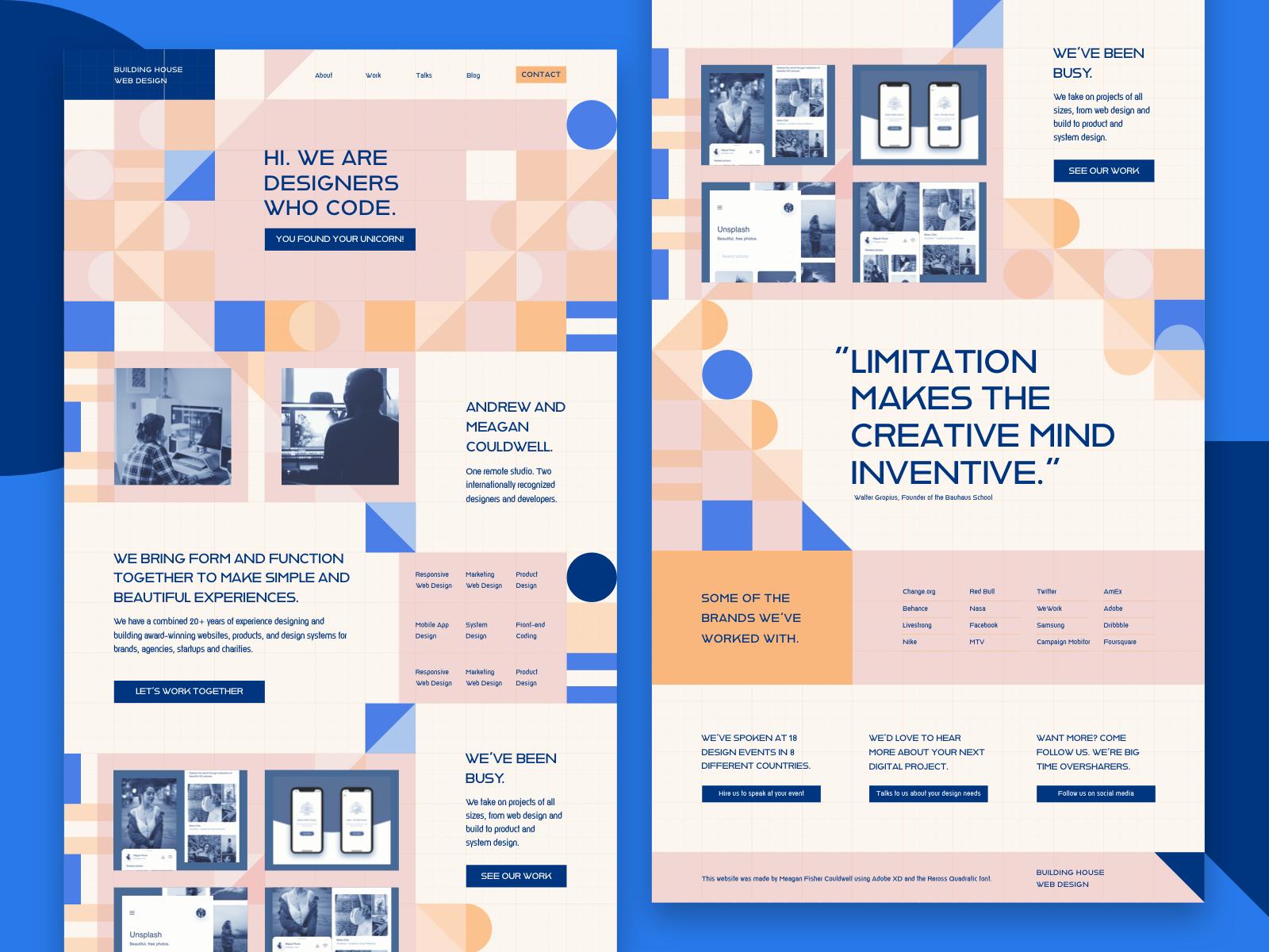 Rebound UI Design - Copywork illuatration ui deisgn landing page graphic design
