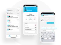 SmartHotel Admin app airbnb hotel mobile application ux ios design interface app ui