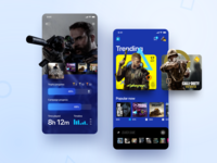 PlayStation Store Redesign application ios app entertainment statistic games store game mobile ux ui interface design sony playstation