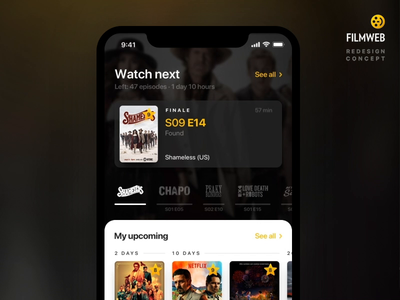 Mark episode as watched episode watch tv tv series tv shows interaction animation ios design interface app ui