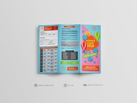 Trifold Brochure Design For Summer Camp 2018