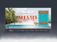 Villa Website Header Design