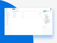 Storage Webapp UI Design