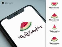 Watermelon icon design