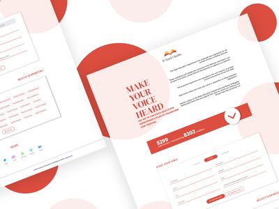 Landing Page Design 2019