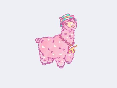 If this isn't cute alpaca my stuff