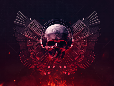Tech Expendables expendables devices skull art technologies