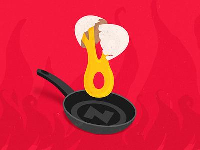 Crossover Nerdstore/Omelete illustration logo ccxp omelete jovem nerd nerdstore