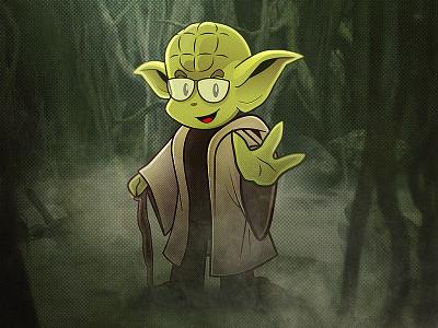 Nerdinho Yoda jovem nerd star wars yoda nerdstore