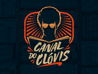 Canal do Clóvis visual identity branding logo channel youtube channel youtube