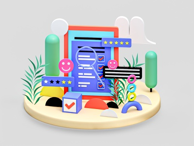 Project texture after effect graphicdesign motion rendering vray 3dsmax interface app icon web design ui ux 3d animation render landing page game isometric lowpoly 3d illustration