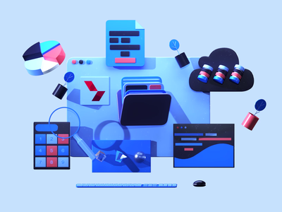 Back office icon 3dsmax aftereffects wireframe office motiongraphic video app texture interface ui ux web design 3d animation render landing page game isometric lowpoly 3d illustration