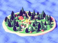 Campfire - island
