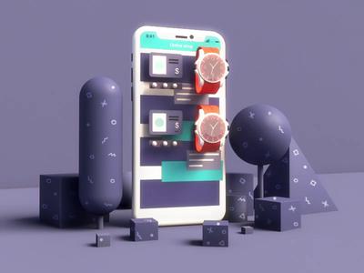 Online store - Smartphone