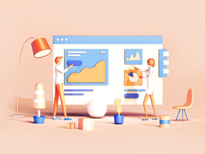 Analytics app texture 3dsmax c4d analysis homepage heroimage branding logo identity video gif motion character web web design ui ux 3d animation render landing page game isometric lowpoly 3d illustration