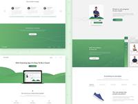 CoachingApp Landing Page