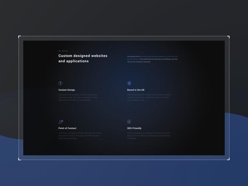 Spaced Redesign 02 homepage design black blue universe space sci-fi sci fi redesign ui ux user uidesign