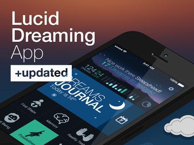 Lucid Dreaming app updated