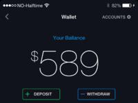 Wallet real pixel