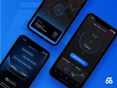 MotionControl Redesign amazon alexa map location equalizer headphones music redesign 66audio motioncontrol