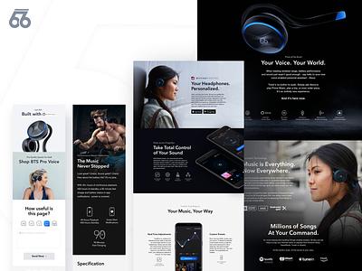 PRO Voice Headphones Product Page 66audio headphones sound music pro voice sport product alexa amazon