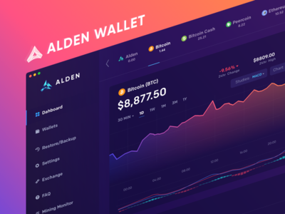 Alden Wallet: Dashboard