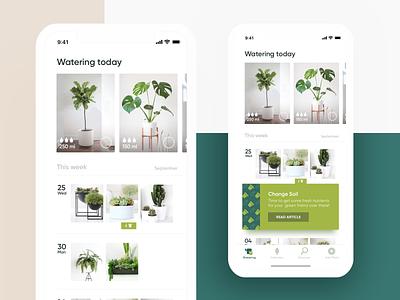 Indoor Gardening App principle smart home health maise water schedule green garden plant