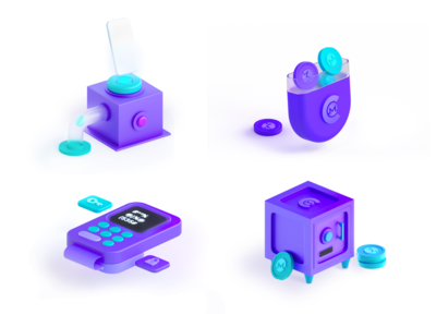 CakeWallet Illustrations