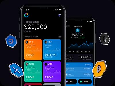 Exodus Wallet bullrun stonks holdings portfolio coins finance blockchain exchange cryptocurrency crypto wallet bitcoin maise