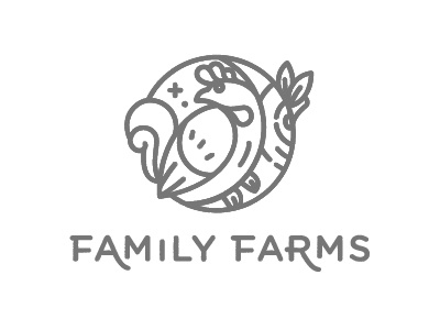 Chicken Farm logo bird logo icon tree chicken