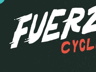 Cycling team logo, need help deciding! fuerza force lightening logo type team cycling bike fast