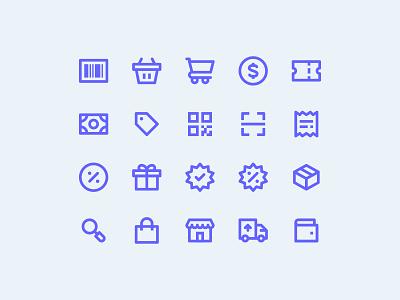Ecommerce icons store shopping ecommerce ui icons icon pack icon set icon design pixel perfect icon
