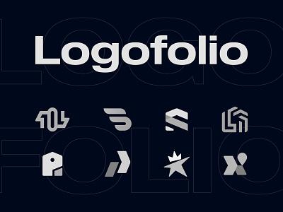 Logofolio on Behance minimal logo collection geometric logos branding behance portfolio monograms logo designer logofolio logo design