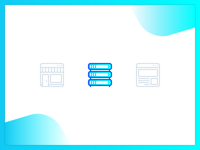 Iconset blog market hosting pixel perfect icon set iconography icon design icon