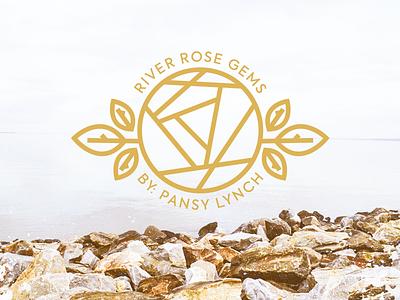 Work in Progress floral water gemstone stone gem rose river