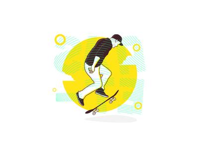 Skate Illustration