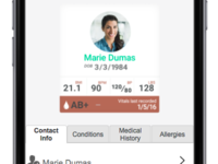 Health Management App UI