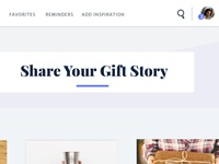 Gifting Website