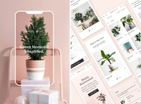 Ansel & Ivy styleguide design system branding uidesign ui  ux ui website concept website design website design